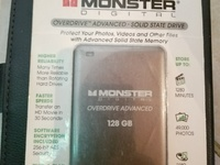 Monster Digital Overdrive Advanced 128 GB Solid State Memory