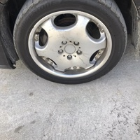 17 inch 5 lugs with tyres