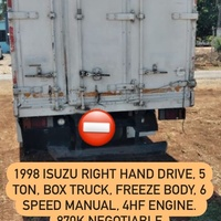 1998 Isuzu Box Truck