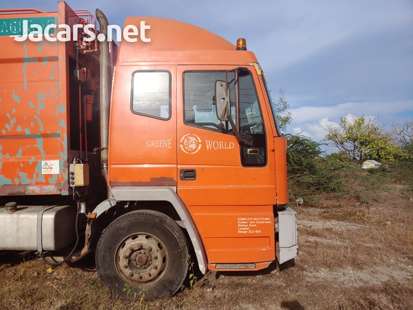 2000 Seddon Atkinson Garbage Disposal Truck-5