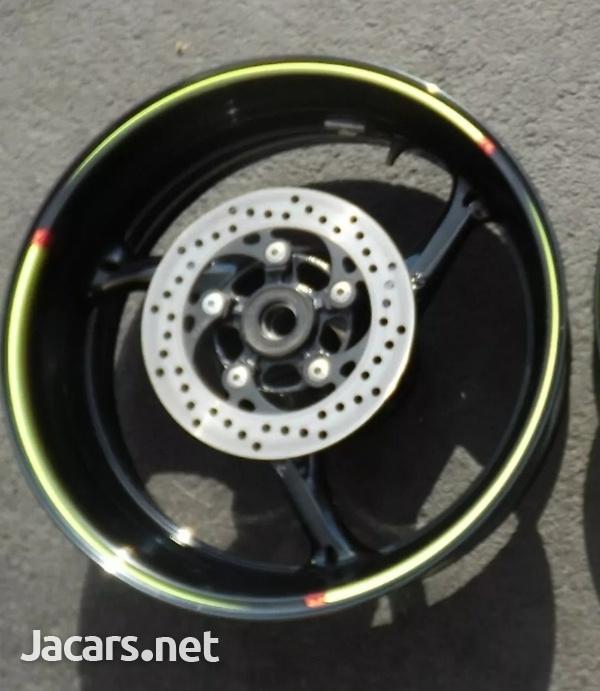 2011 to 2017 Suzuki gsxr 750 rear wheel rim-2