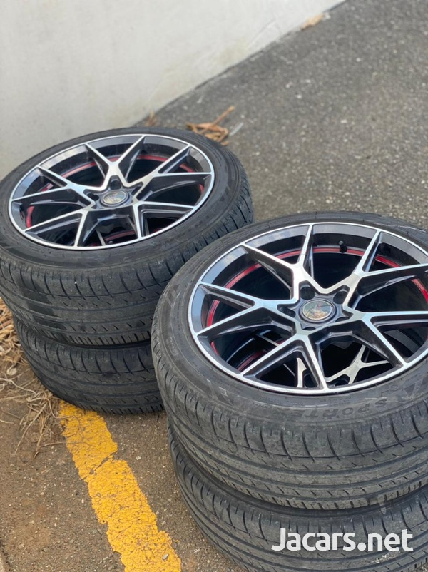 Rims and tire-3