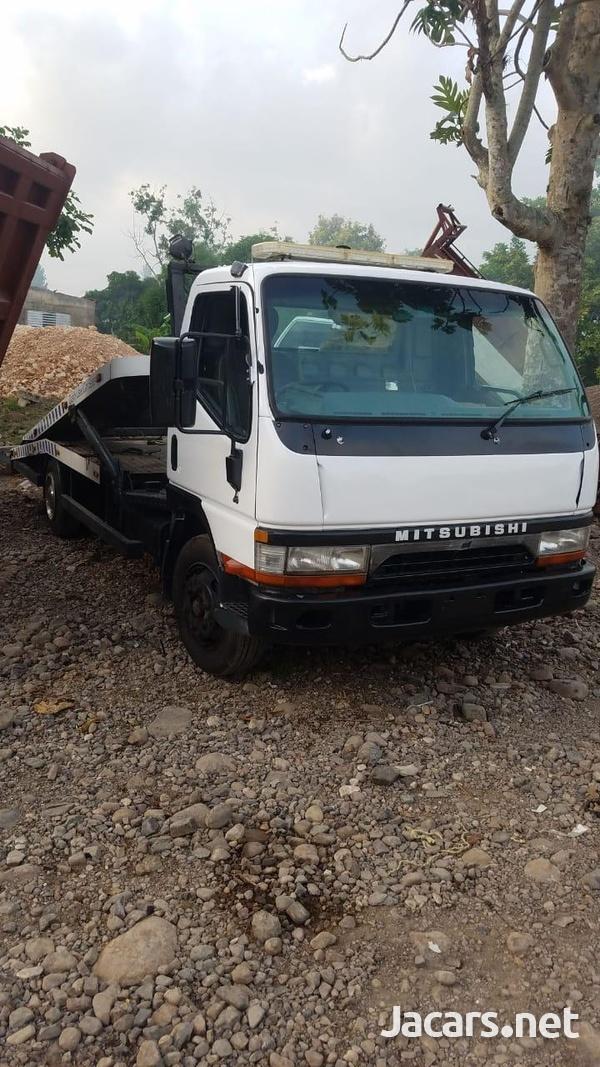 Mitsubishi Canter 2 Car Transporter Truck 2001-3