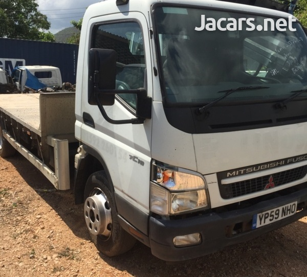 2009 Mitsubishi Canter FlatBed Truck-4