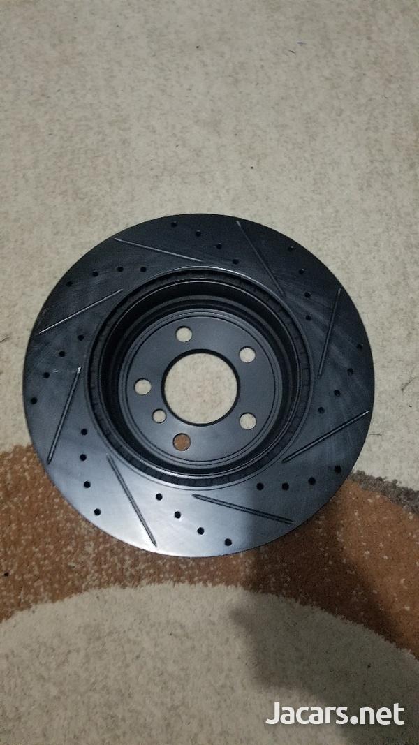 BMW 335i, 435i brake set and front bumper spoiler-1