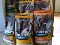 Nutram and Fibs Dog Food