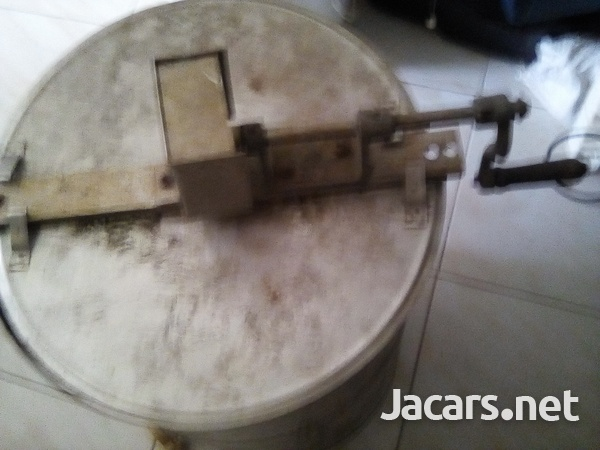 Manual cranking stainless steel honey extractor-7