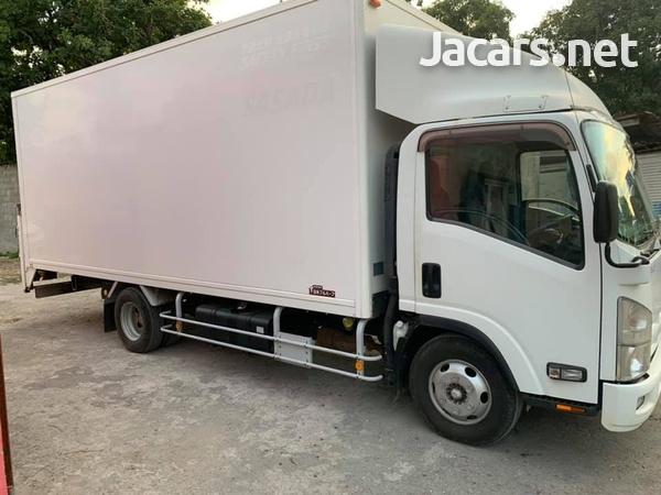 Isuzu Box Body Truck 4,0L 2012-2