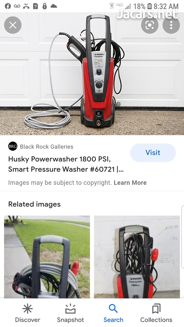 brand new Husky 1800 psi Power washer from overseas-2
