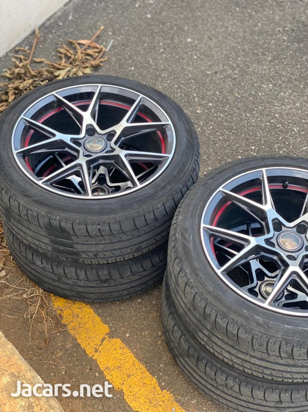 Rims and tire-2