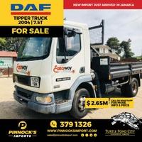 DAF Tipper Truck 7.5T 2004