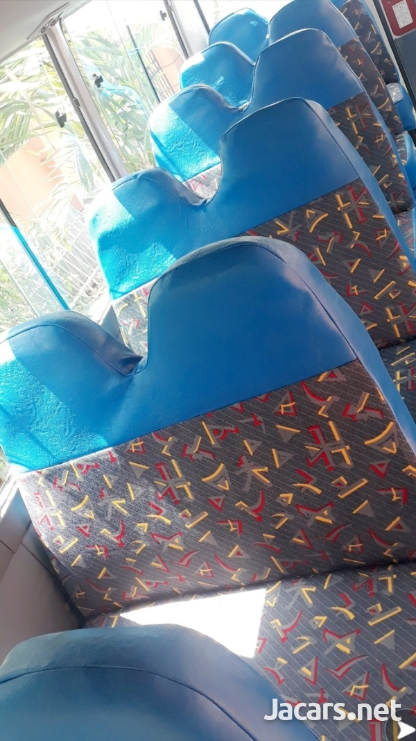 HAVE YOUR BUS FULLY SEATED OUT WITH FOUR ROWS.CONTACT THE EXPERTS 8762921460-1