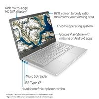 HP CHROME BOOK PLATINUM