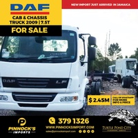 DAF Cab And Chassis 7.5T 2009