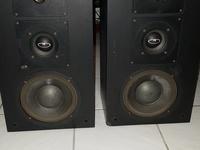 Pair of Altec Lansing floor speakers