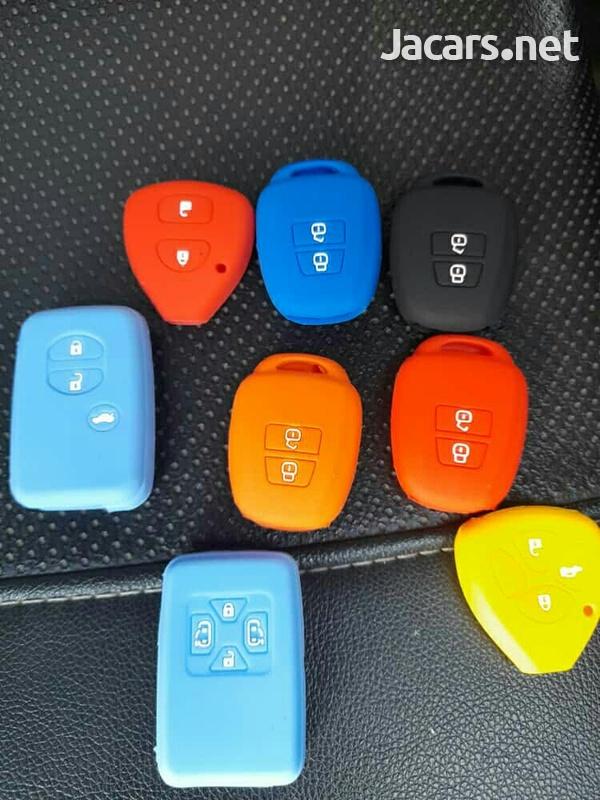 Silicone car key cases-5