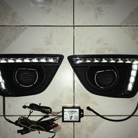 Daytime running lights/fog lights for Honda Fit 2014-2017