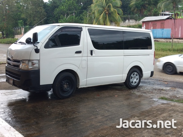 2012 Toyota HIACE contact- 876 817-2035 or 876 494-4436-7