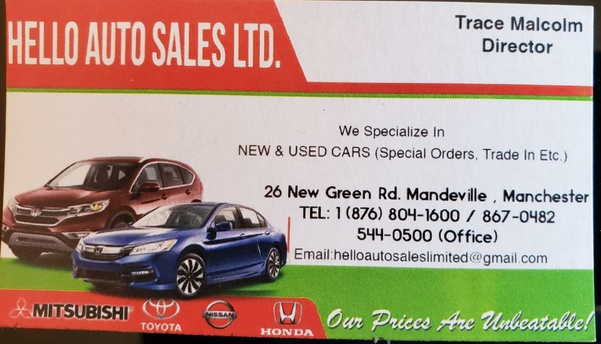 Hello Auto Sales LTD