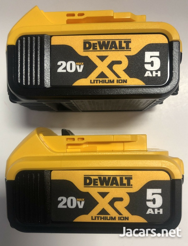 Dewalt 20 Volt 5AH Battery-1