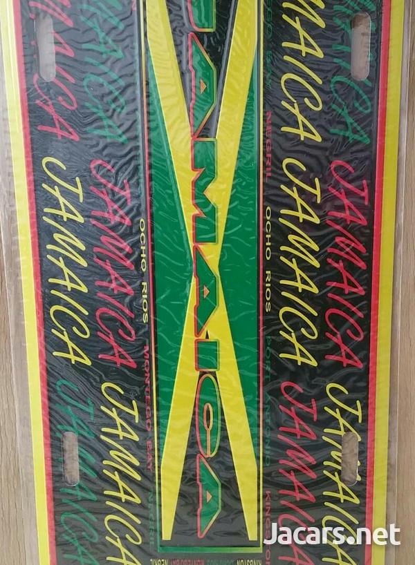 Jamaica License Plates-4