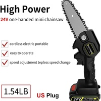 Miniature Chainsaw Lithium battery