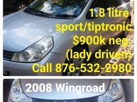 Nissan Wingroad 1,8L 2008