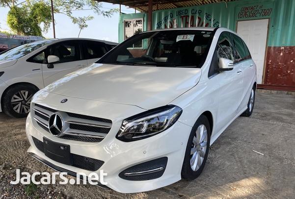 Mercedes-Benz B-Class 1,6L 2015-8