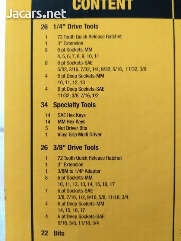 Dewalt 108pc tool set-2