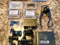 GoPro Hero3 and HD Underwater camera