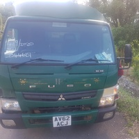 2014 Mitsubishi Canter FlatBed Truck