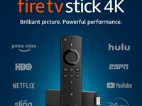 Unlocked 4K Ultra Amazon FireTV Stick- Loaded with movies and TV shows