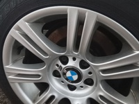 Single BMW M rim with brand new tyre