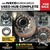 COMPLETE HUBS - IVECO EUROCARGO / DAF45LF
