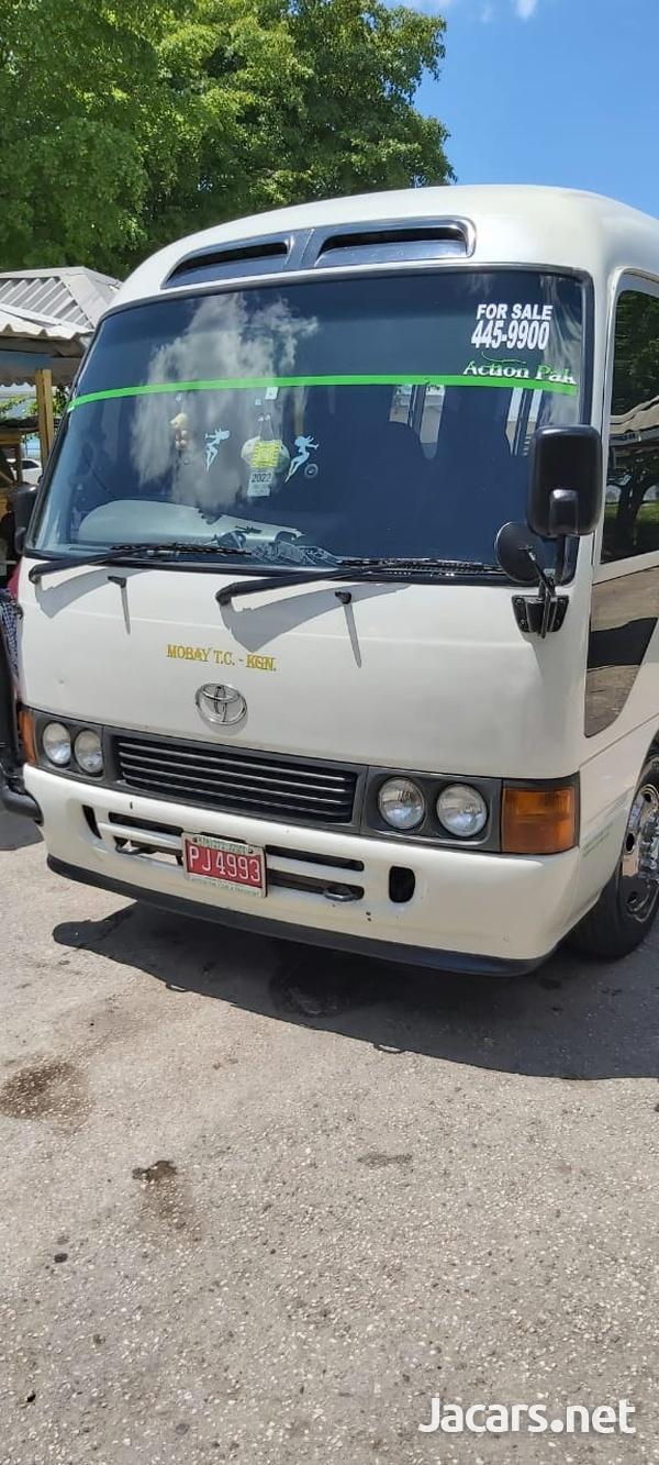 2008 Toyota Coaster bus-3