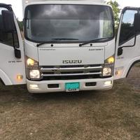 2011 Izuzu Freezer & Cooler Box Truck