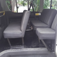 ONE SET OF TOYOTA HIACE SEATS WITH HEAD REST 876 3621268