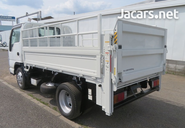 2007 Isuzu Elf Manual 3,0L Flatbed Truck-3
