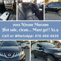 Nissan Murano 3,5L 2012