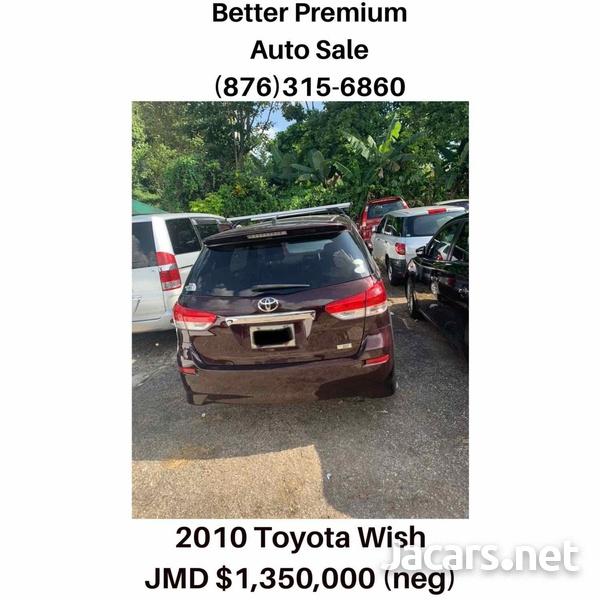 Toyota Wish 1,8L 2010-5