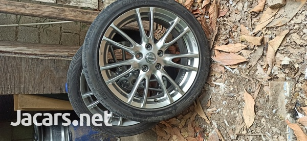 nissan skyline stock rims with 2free tire-3