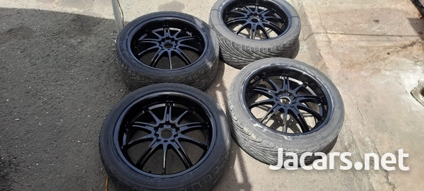 18 inch rims and tyres 245/40/18-2