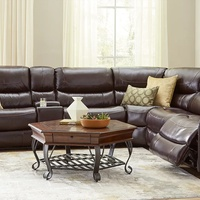 ARMANI 6PCS POWERED SECTIONAL SOFA SET