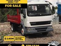DAF Tipper Truck 7.5T 2006