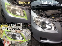 UV treatment head lamp restoration service