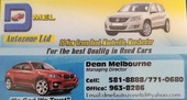 D Mel Autozone Ltd. We sell, We buy, We trade