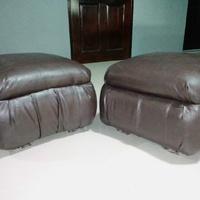 Leather Ottaman