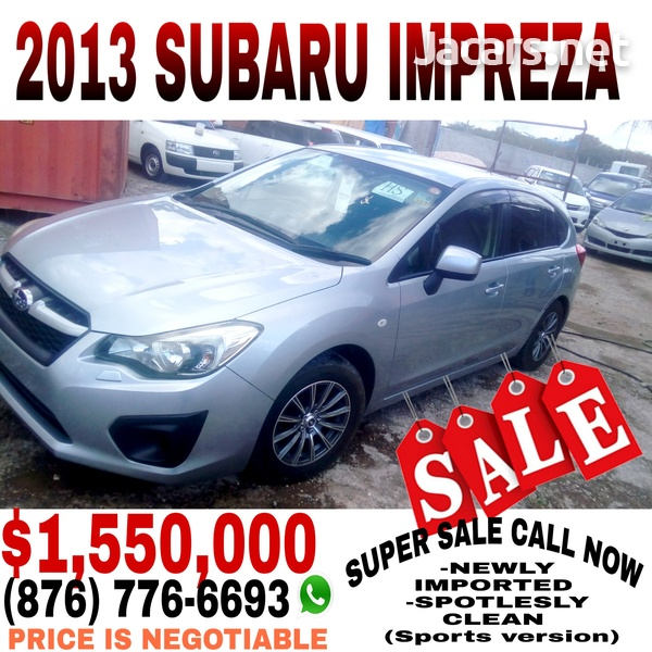 Subaru Impreza 1,5L 2013-1