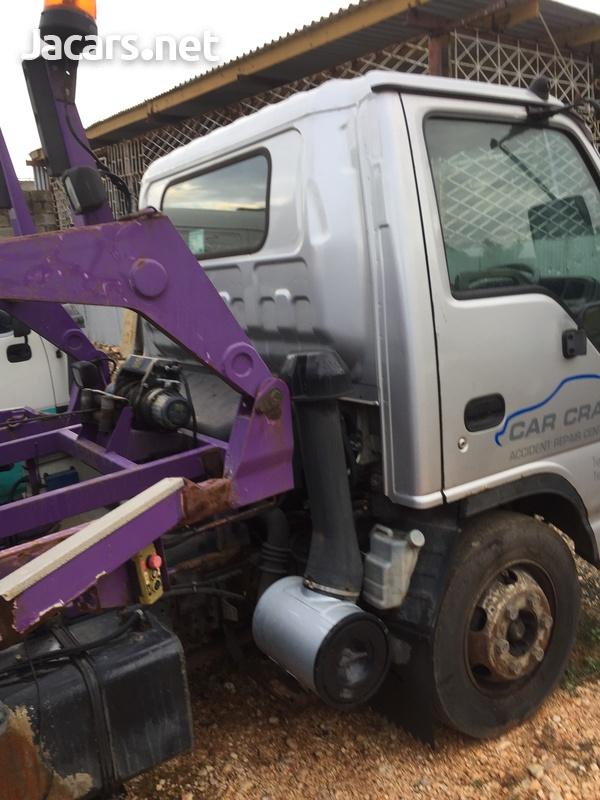 2006 Isuzu NQR TwoCar Transporter Truck-4