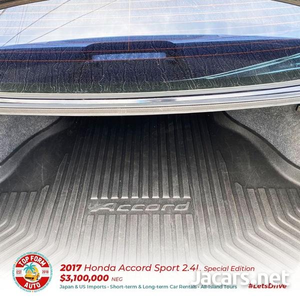 Honda Accord 2,4L 2017-10